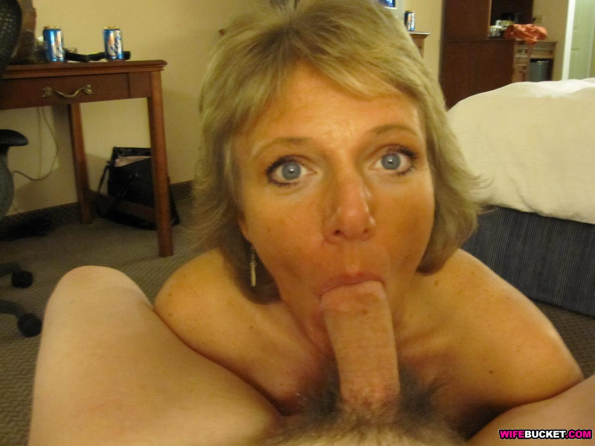 mature blow cum