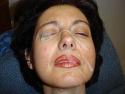 Pics of amateur wives getting facials
