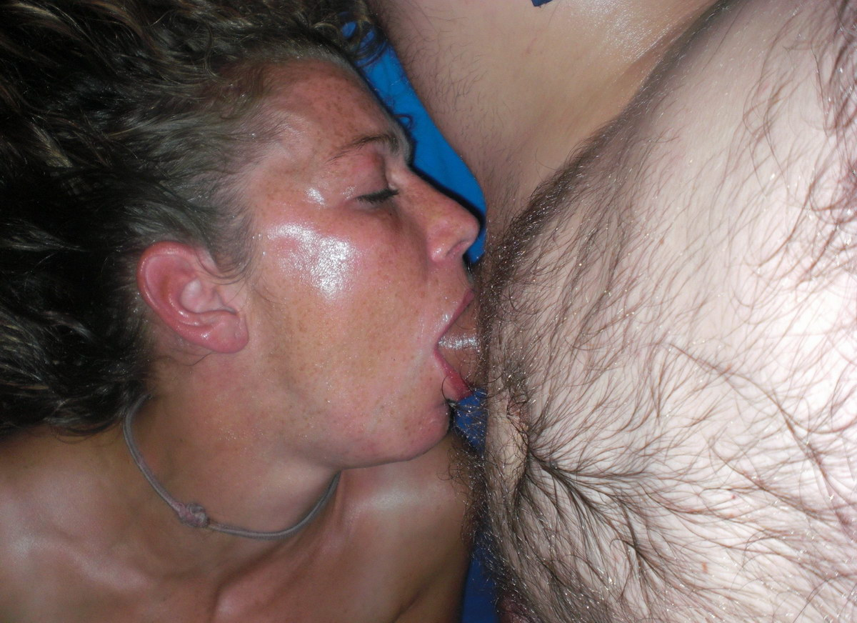 Real wife deepthroat