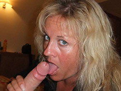 User-submitted pics of amateur wives giving blowjobs