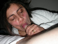 Gallery of amateur blowjobs and cumshots
