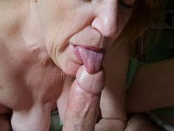 WifeBucket Pics | Mature amateur blow-job