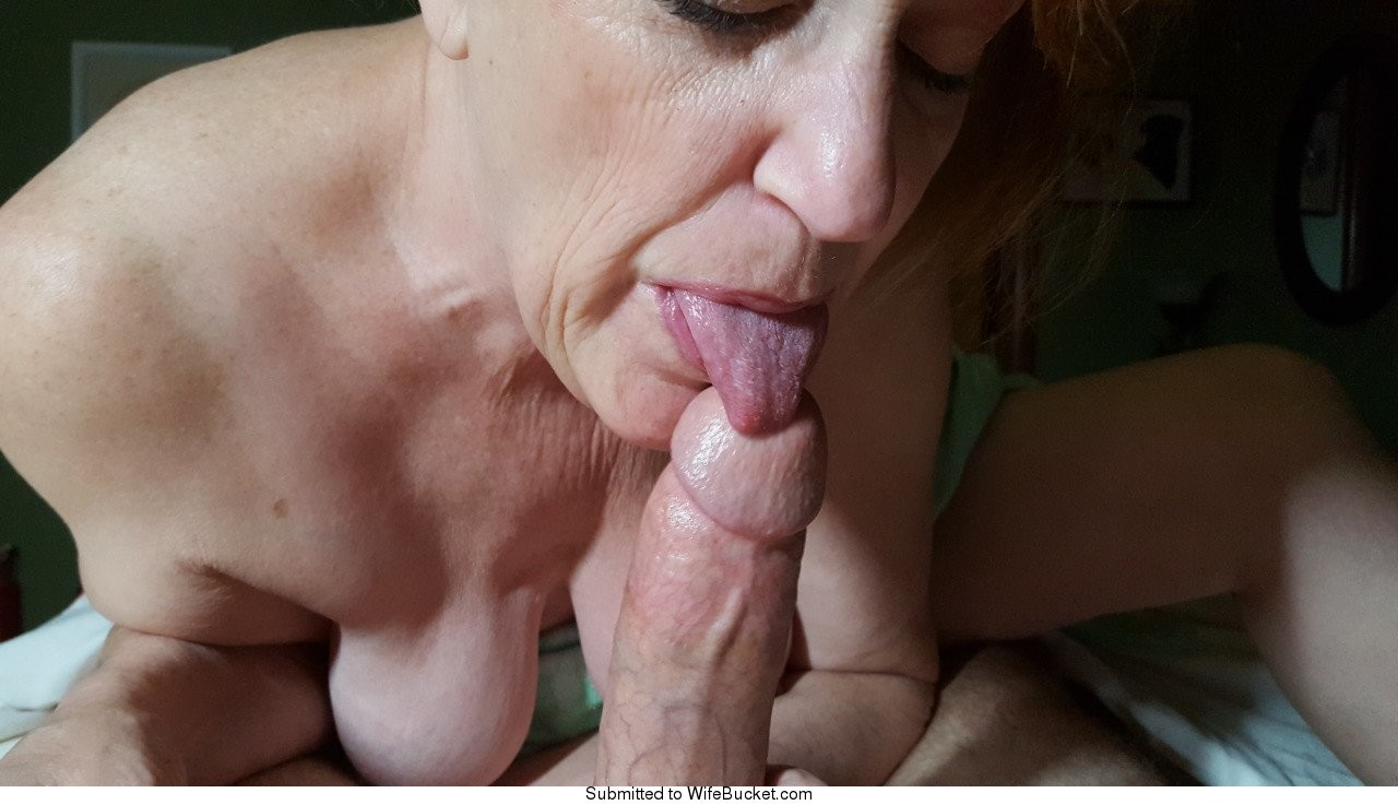 wifebucket | milfs sucking cocks - a gallery tribute