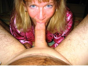 Almost all women love cock but when it comes to sucking it... well, it depends. 😉 Luckily, all of the MILFs and wives in this gallery give blow-jobs to their husbands without any ado! Take a look below - older women sucking cocks, kneeling down for the blowjob, and making sure that hubby's dick never remains un-licked and un-sucked! 💯 These are images of women who not only give blowjobs - these are MILFs who LOVE doing it too... Scroll down for the free pictures and then sign up for Wife Bucket to get the rest!
