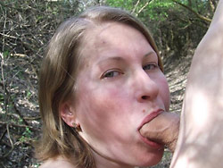 Blowjobs from this tasty amateur wife