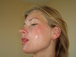 WifeBucket Pics | Huge amateur facial cumshot