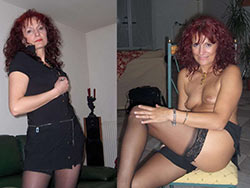 WifeBucket Pics | Mature wife before-after nudes