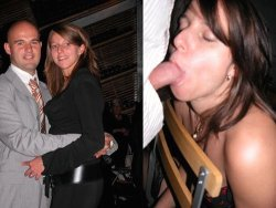 Before-after blowjobs pics of MILFs and housewives