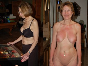 WifeBucket Pics | Mature wife clothed-unclothed