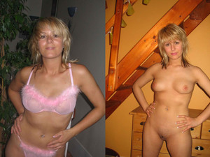 WifeBucket Pics | Dressed-undressed nudes of a real amateur wife