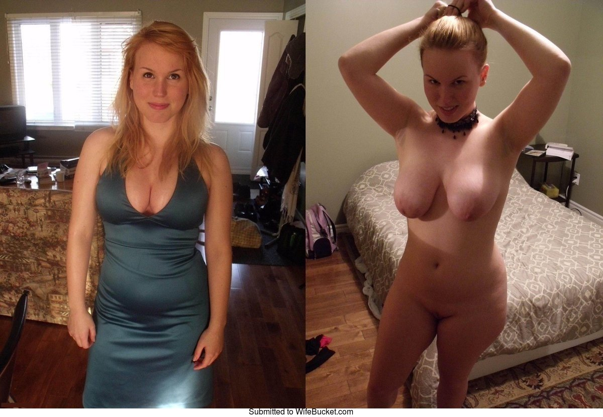 Wifebucket  Dressed, Then Naked - More Before-After Nudes-8127