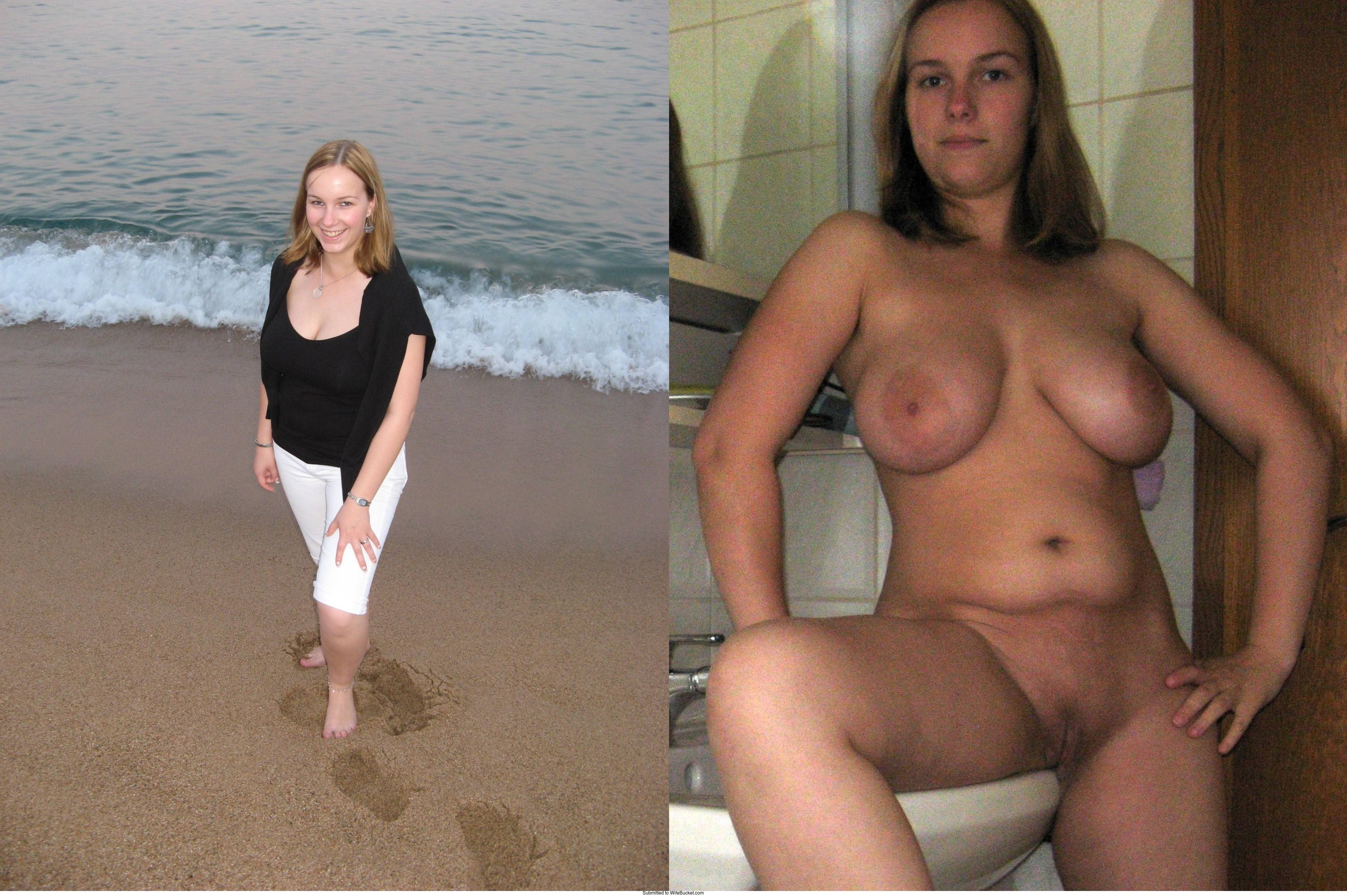Wifebucket  Hot Amateurs - Dressed And Then Undressed-1745