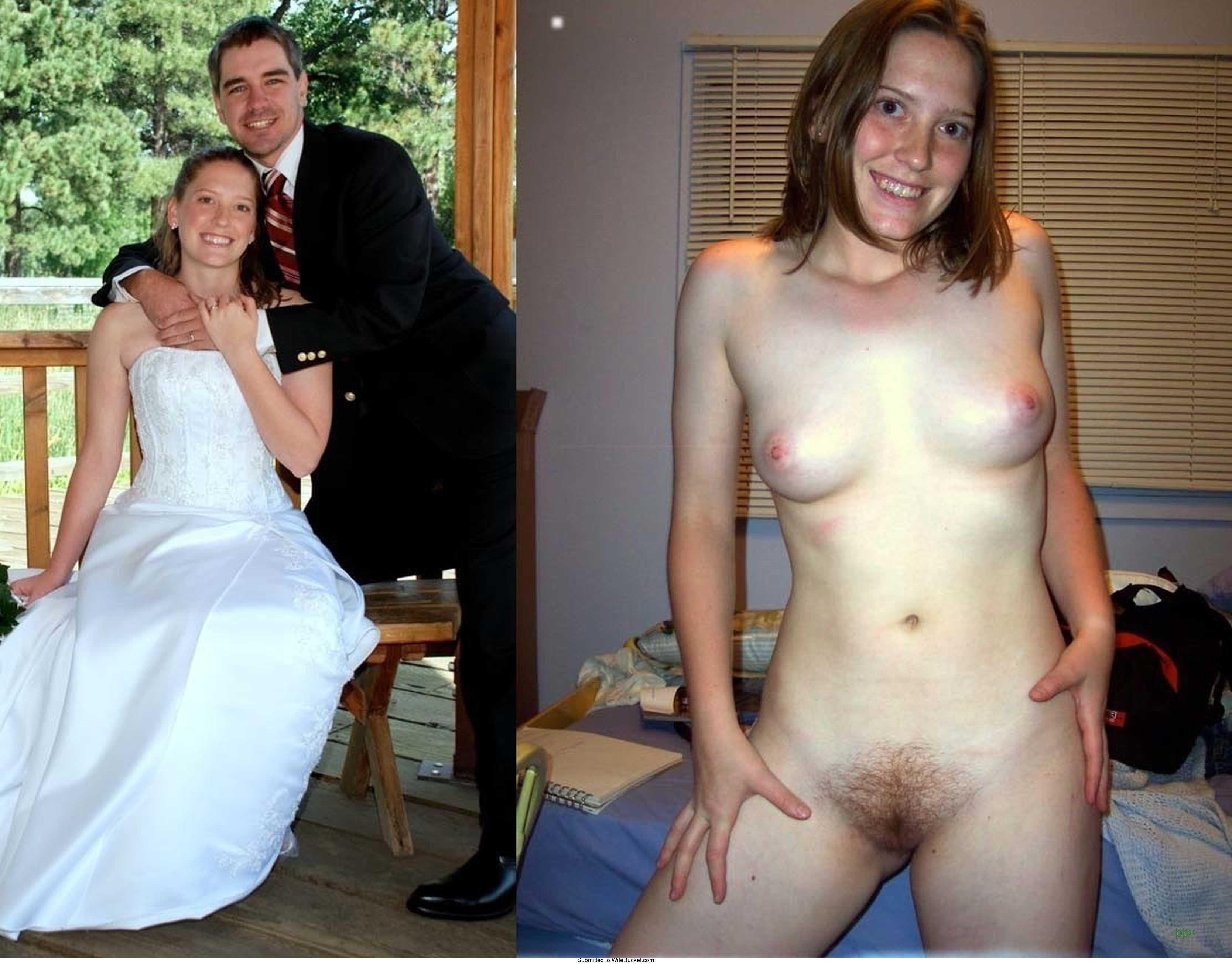 голая пара после свадьбы - 4