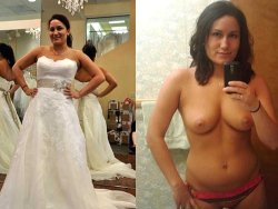 Video nudes from a real amateur bride
