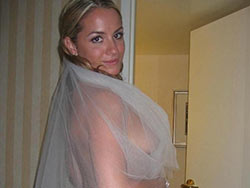 Naked photos of real amateur brides