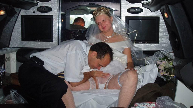 Chubby and bride and sex