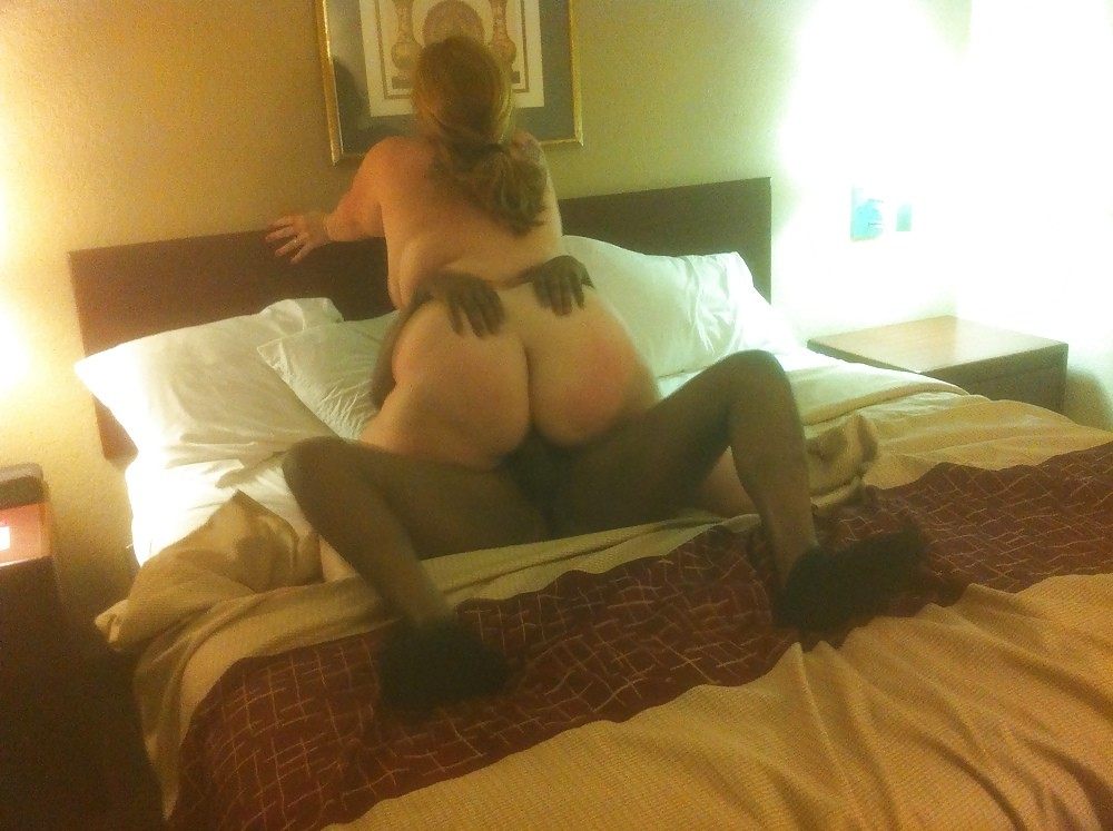 Fat cuckolding wife rides a BBC