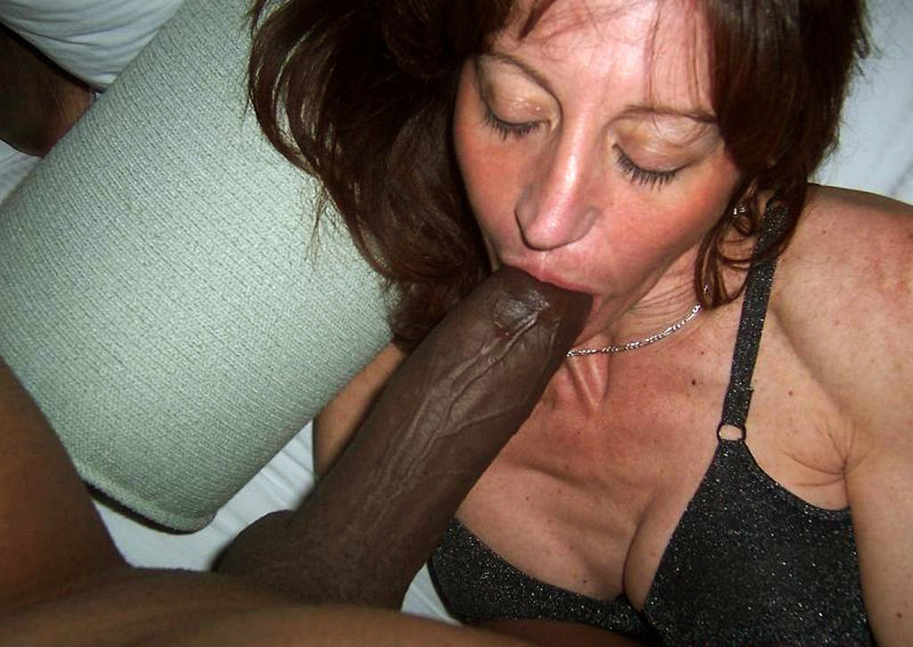 Interracial blowjob galleri