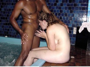 Welcome to this mixed gallery where white wives and MILFs get their mouths stretched to the max by big black cocks! Many women are curious for a BBC blowjob - but only a few dare to let these schlongs fuck their tight mouths all the way down to the throat! Some of the wives are cuckolding with a BBC; some are in interracial marriages; some are freshly-divorced and catching up on Tinder - but all of them uploaded their interracial sex pics at WifeBucket! Scroll down for the free samples and then sign up for the full gallery!