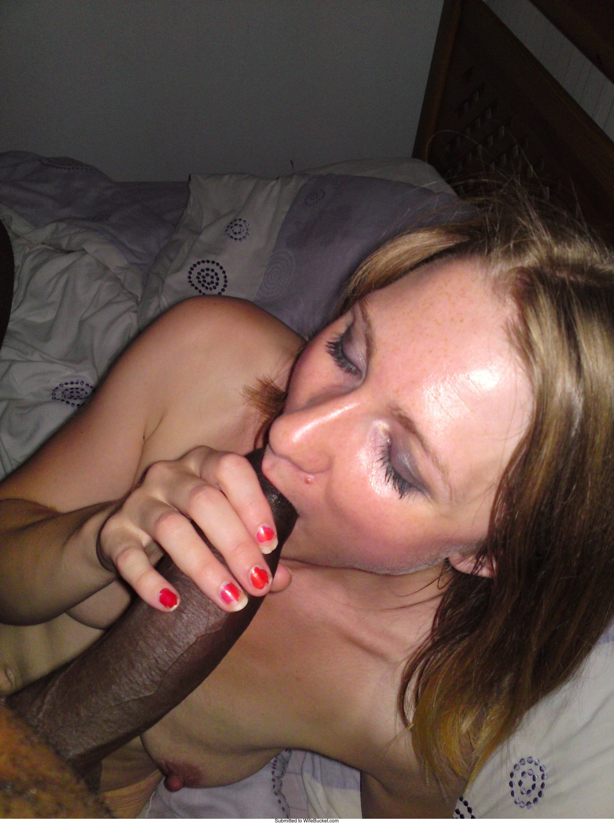 Wife loves to suck