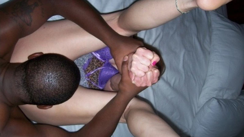 Nude amateur interracial real