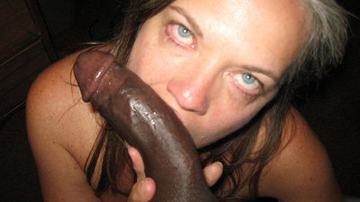 This MILF is tired from fucking but still deepthroats a BBC