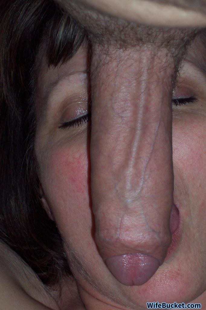 WifeBucket Pics | Amateur MILF blowjob pic