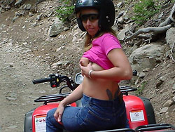 WifeBucket Pics   Amateur wife naked in public