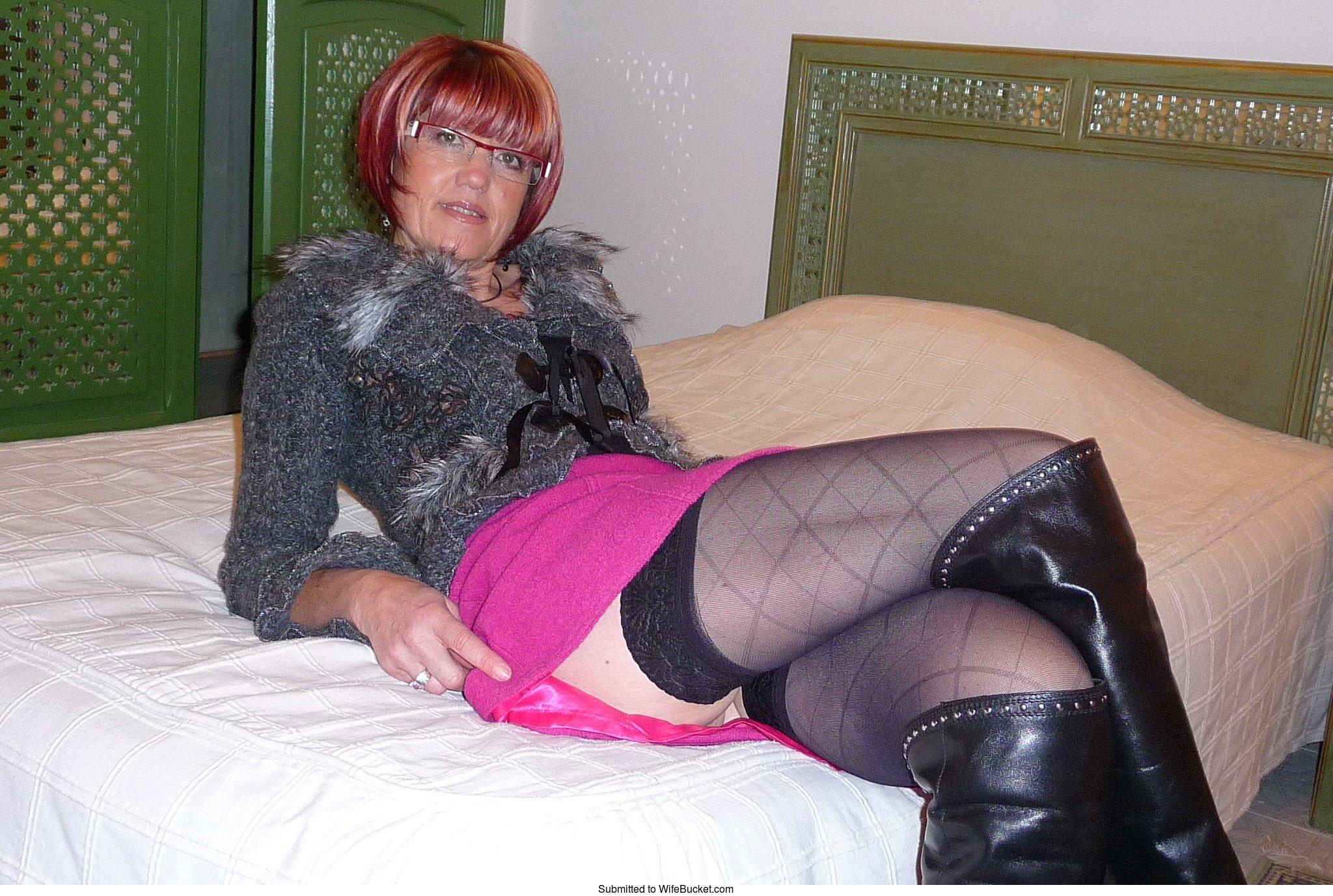 Hot bbw mature group stockings