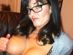Nude pics of MILF bimbo in sexy lingerie and costumes