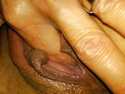WifeBucket Pics | Selfie of a bored wife when fingering her pussy