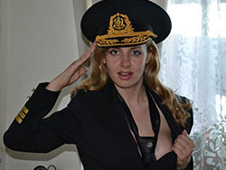 WifeBucket Pics | Sexy amateur wife in uniform