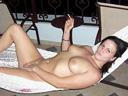 Naked photos from a hot wife's vacation