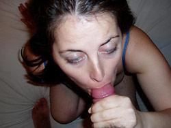 WifeBucket Pics | Amateur wife blowjob pics