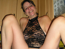 Mature wife exposed fully naked