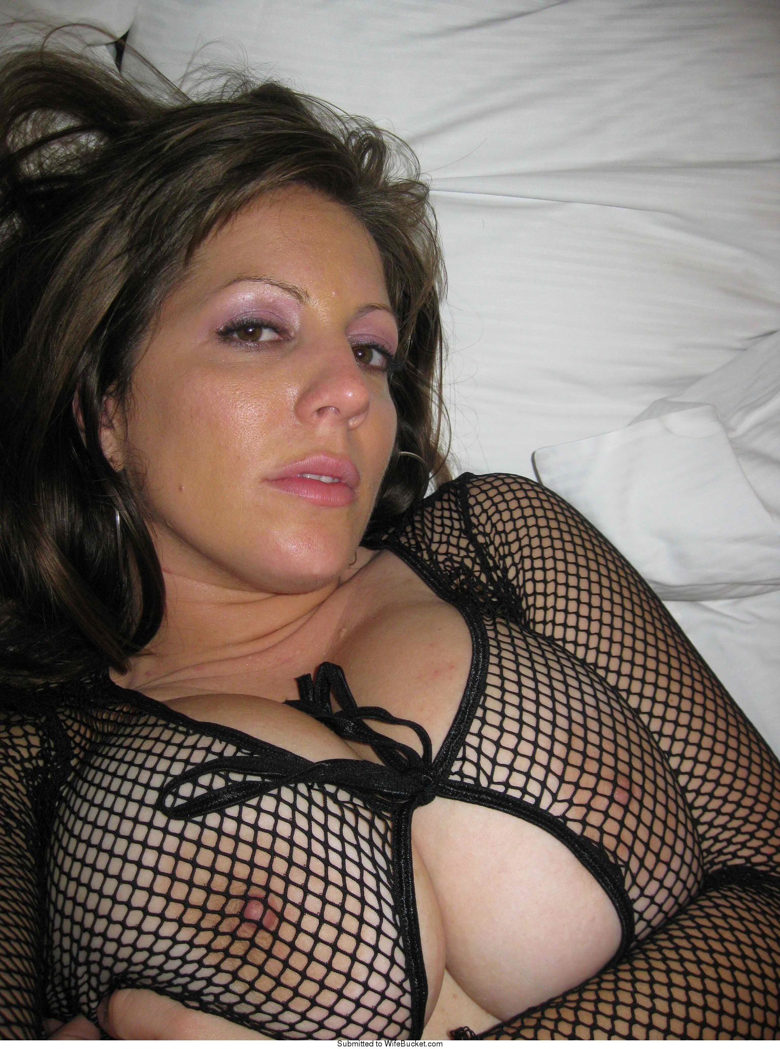 Nudes of a real MILF wife