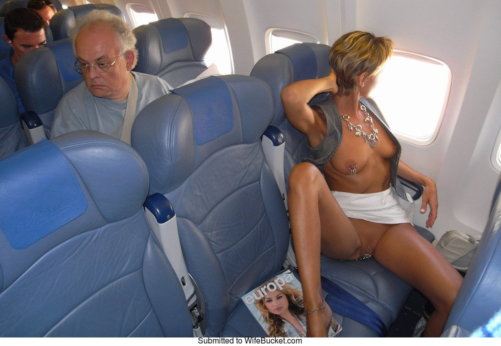 Naked Girls In Airplanes