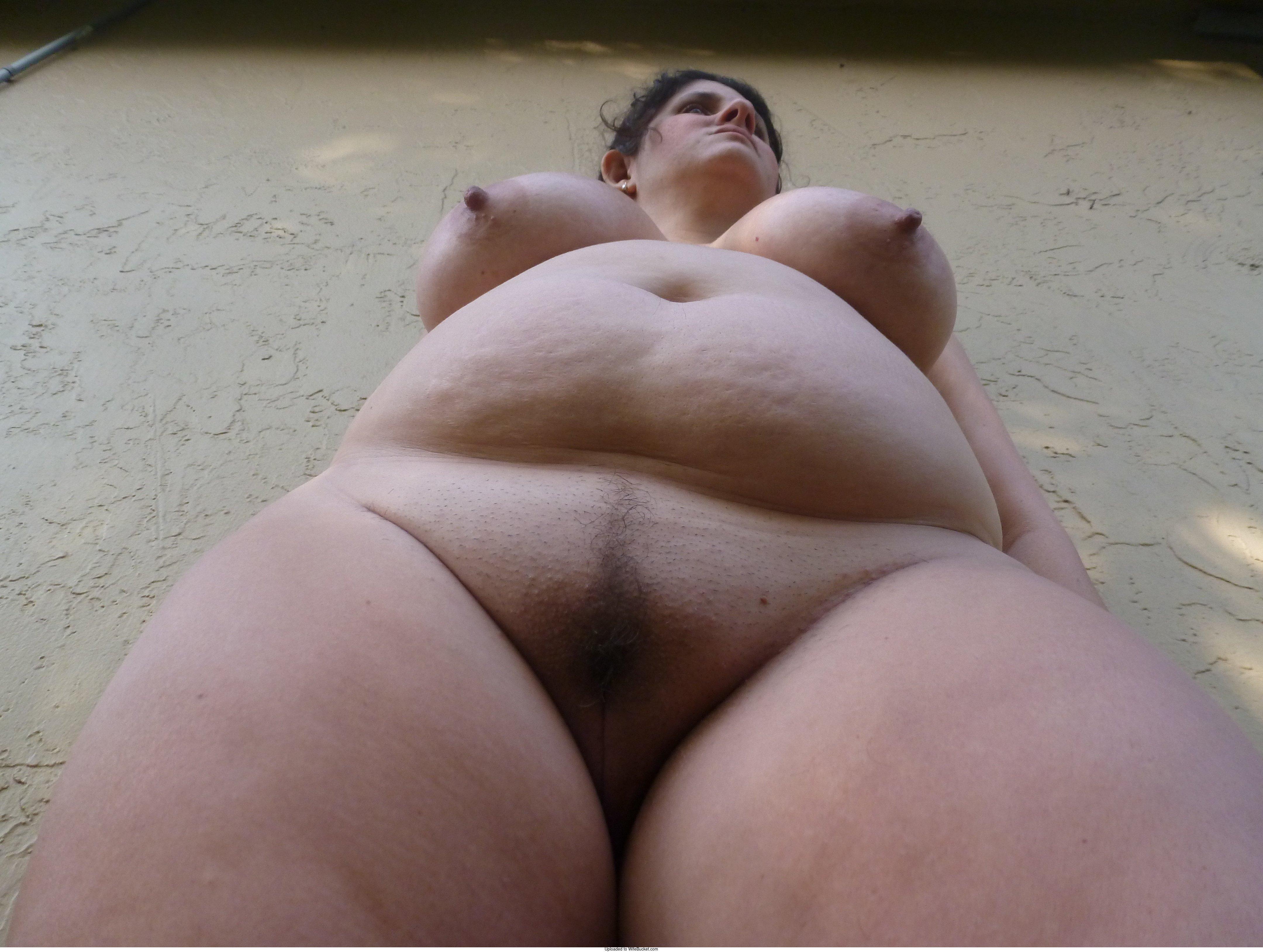 Perfect nude women spread legs