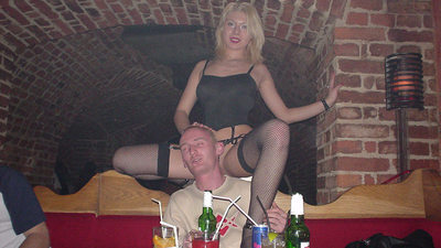 All of hubby's friends love this blonde mature swinger