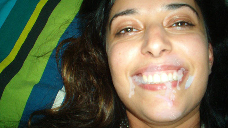 WifeBucket Pics | Big mouthful for a real Turkish wife
