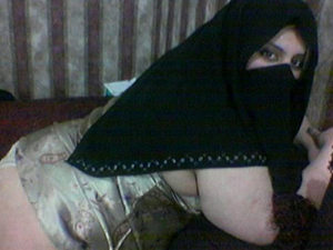 Shy Arab wife in a niqab gets her fat ass slapped with a belt and then fucked hard.