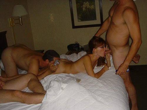 Homemade pics of a real amateur wife fucked at the orgy