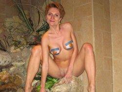 Real mature wife gangbang pics