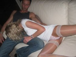 Pics of real wife shared in a gangbang