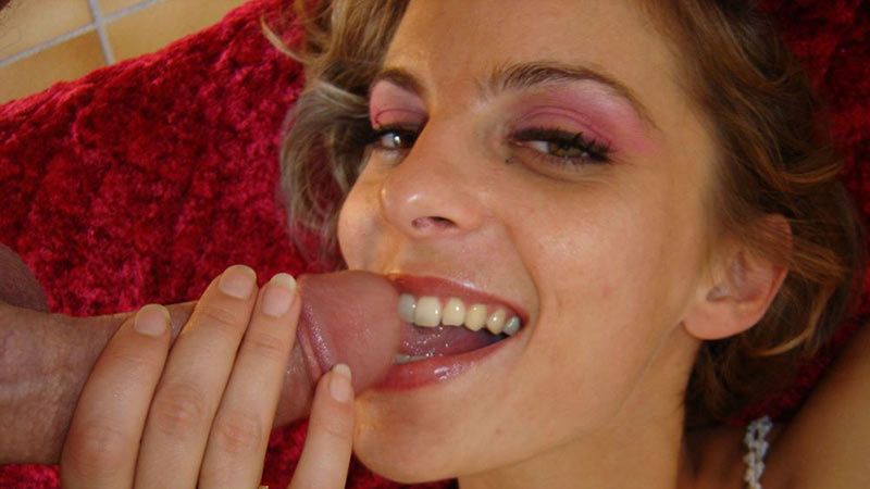 Blowjob pics from cucks wife