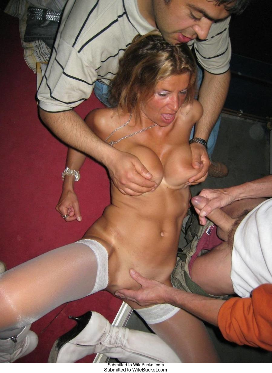 Wifebucket  Swinger Wives Groped In Public-9327