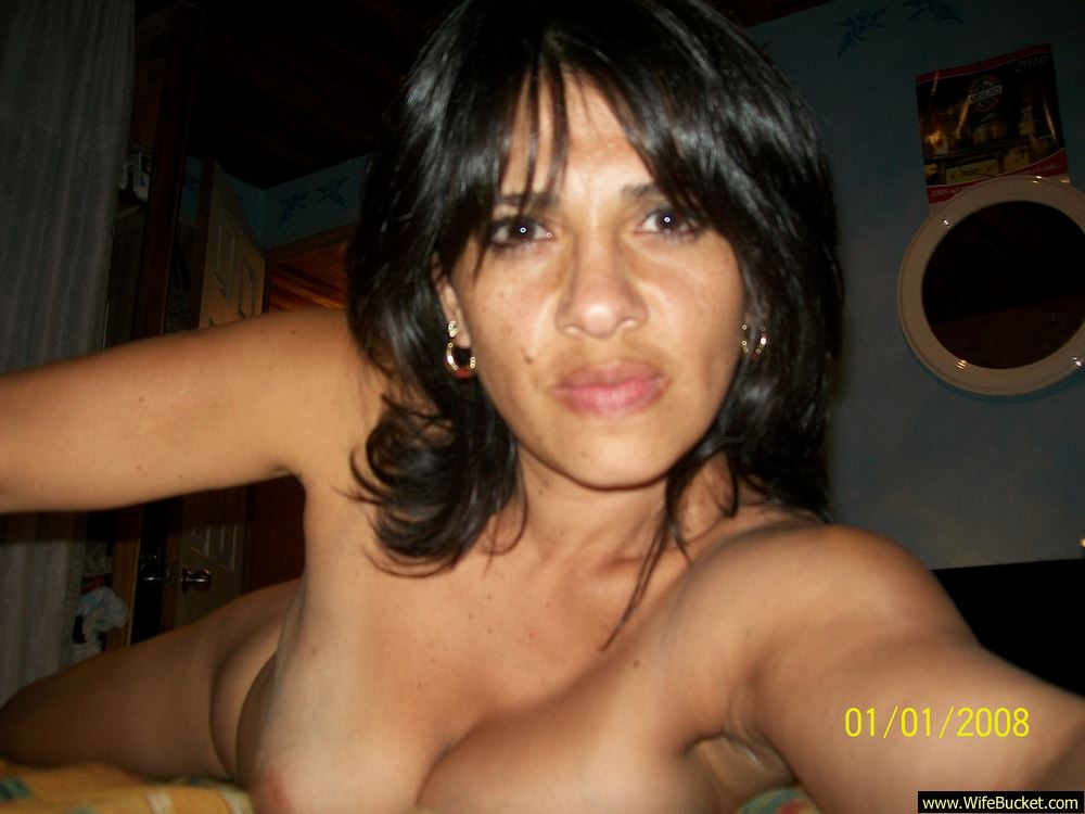 Latina Wife Cheating Amateur