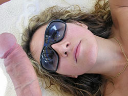 Great blowjobs from a hot amateur wife