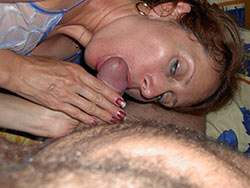 Blowjobs from real wife over 40