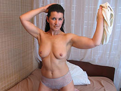Naked pics of a real wife over 40